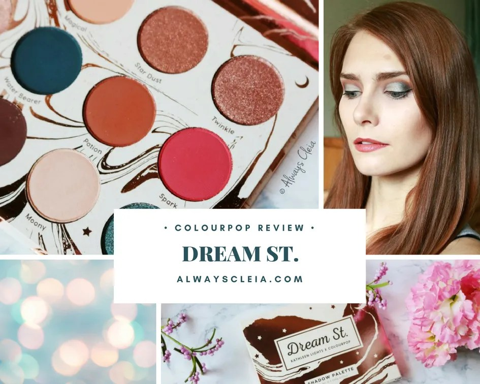 ColourPop DREAM ST. Palette | Review + 3 Looks