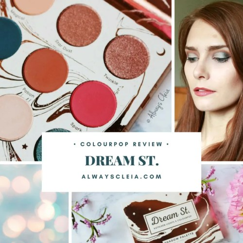 ColourPop Dream St. Eyeshadow Palette Review
