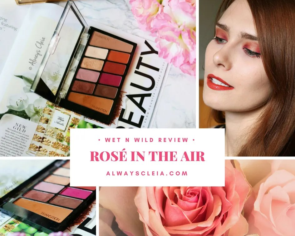 Wet N Wild Rosé In The Air Color Icon Palette Review + 3 Looks