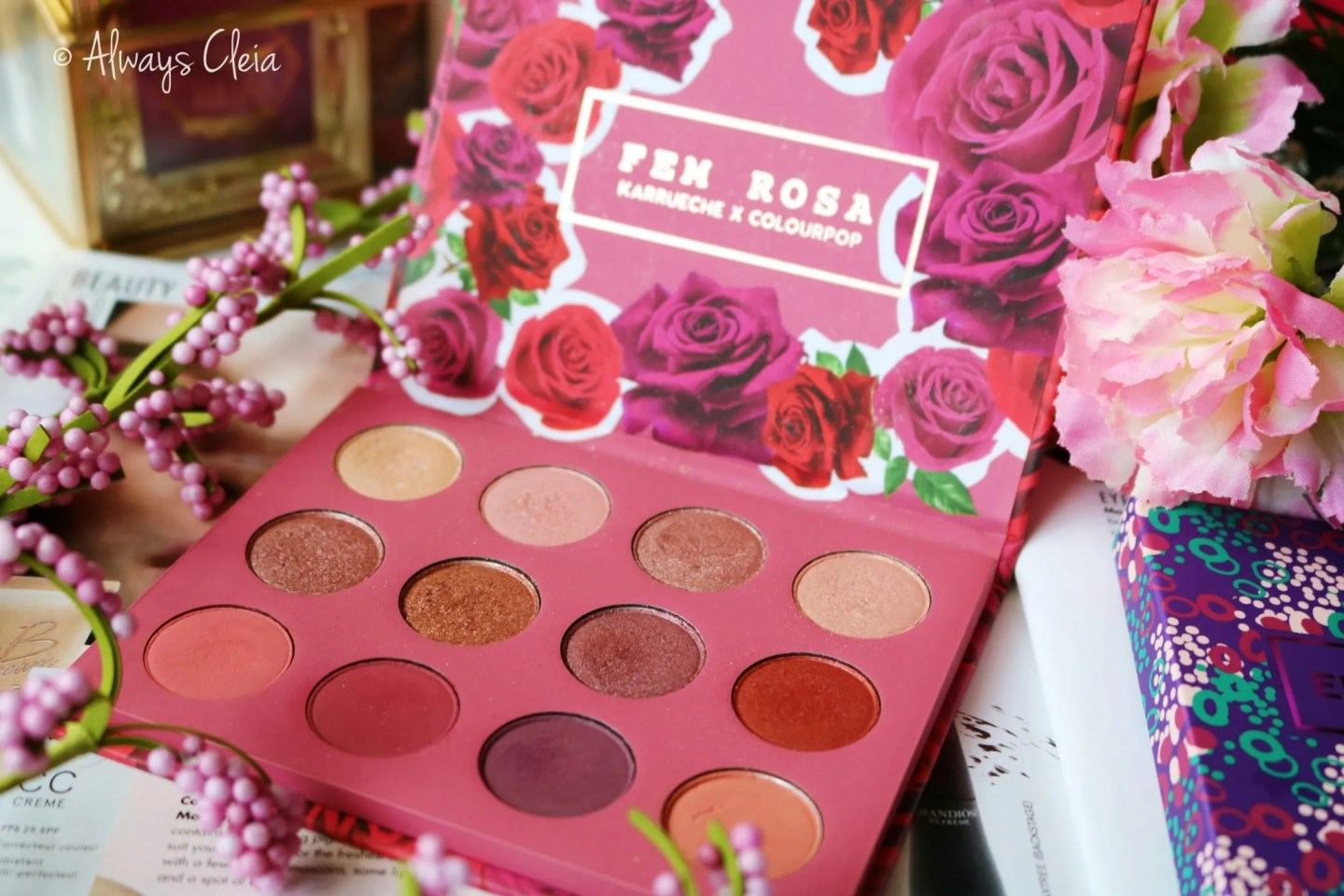 Karrueche ColourPop She Palette Review