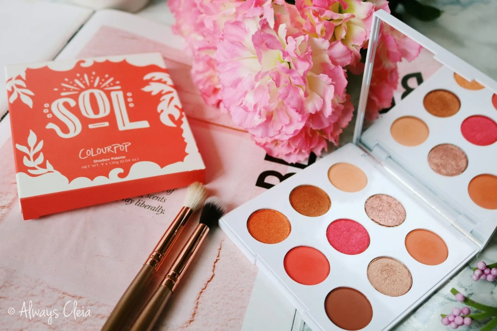 ColourPop Sol Palette Review