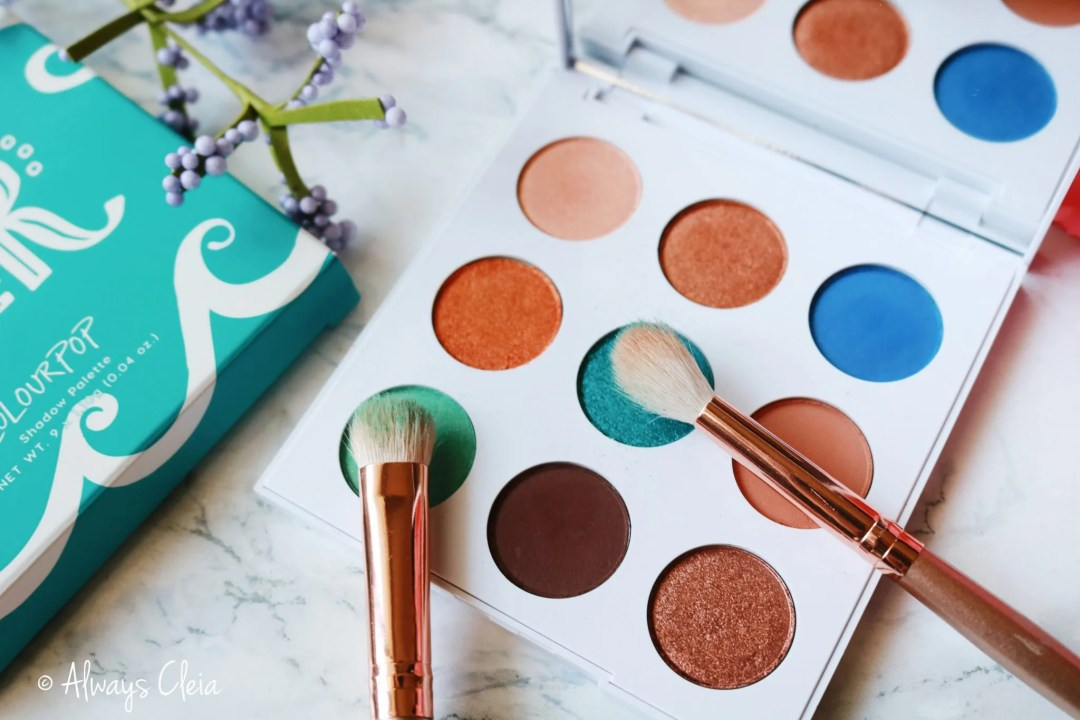 ColourPop MAR Eyeshadow Palette Review