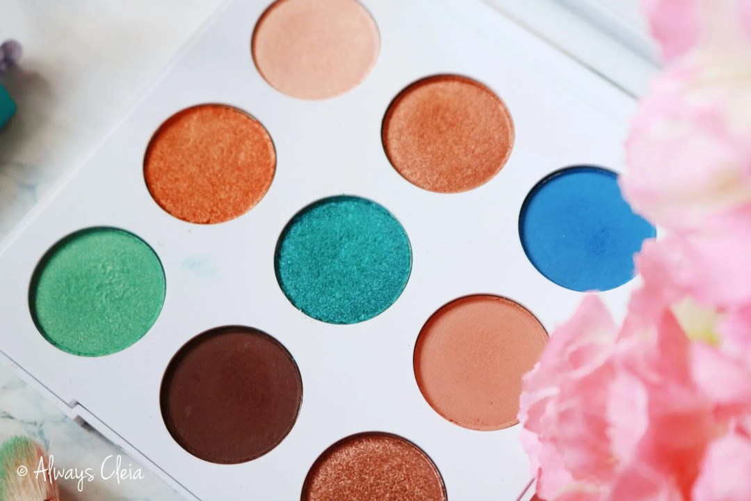 ColourPop MAR Palette | Colour Story