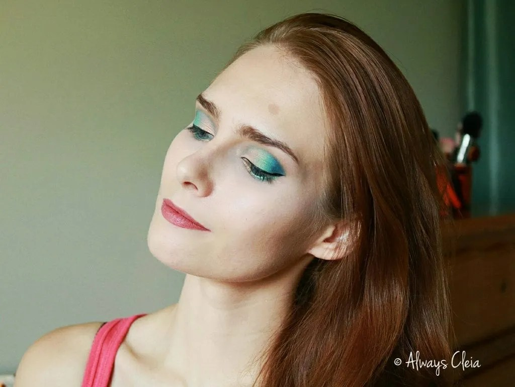 ColourPop MAR Palette Blue & Green Cut Crease