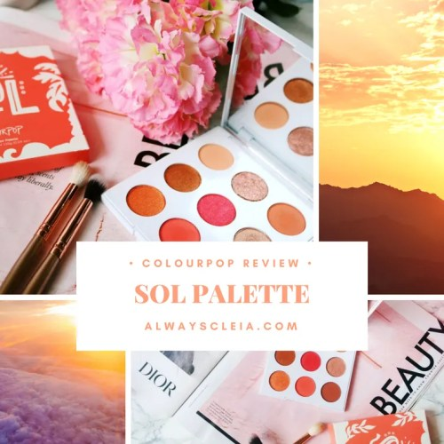 ColourPop SOL Palette Review + 3 Looks