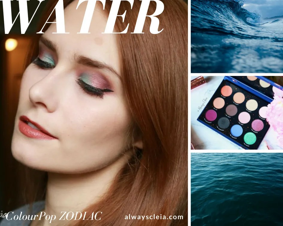 ColourPop Zodiac Palette Water Element Makeup Tutorial