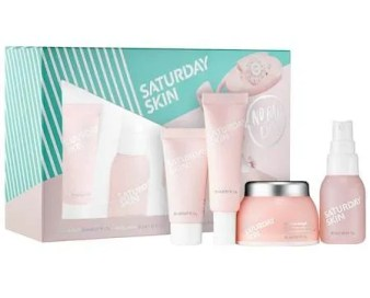 Saturday Skin No Bad Days Skincare Set