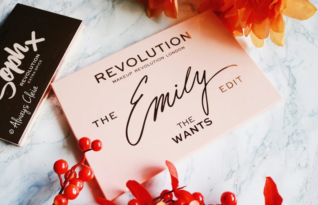 Makeup Revolution Emily The Wants Palette