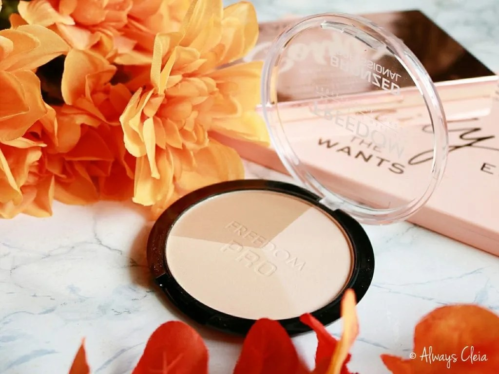 Makeup Revolution Freedom Pro Bronzer in Warm Lights