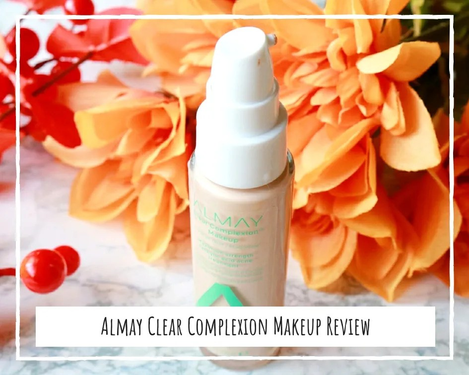 Almay Clear Complexion Makeup With 2% Salicylic Acid Review