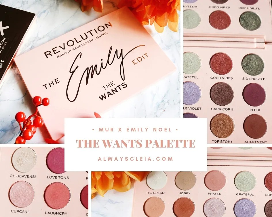 MUR X Emily The Wants Palette | Review + 3 Looks