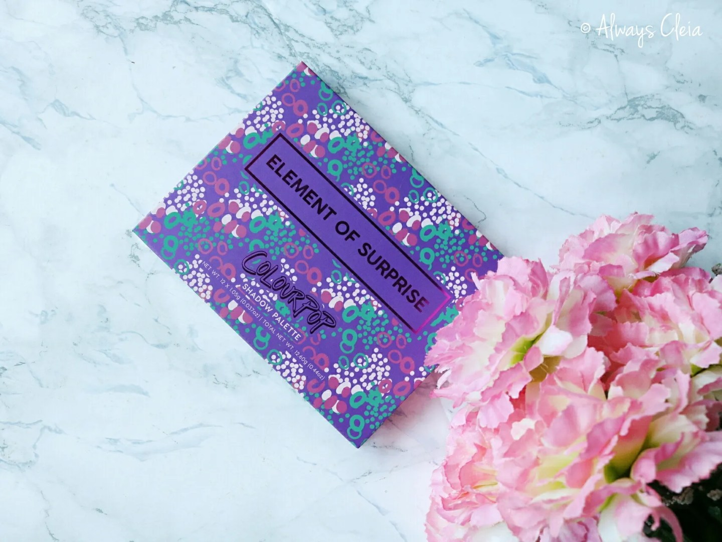 ColourPop Element of Surprise Palette | Packaging