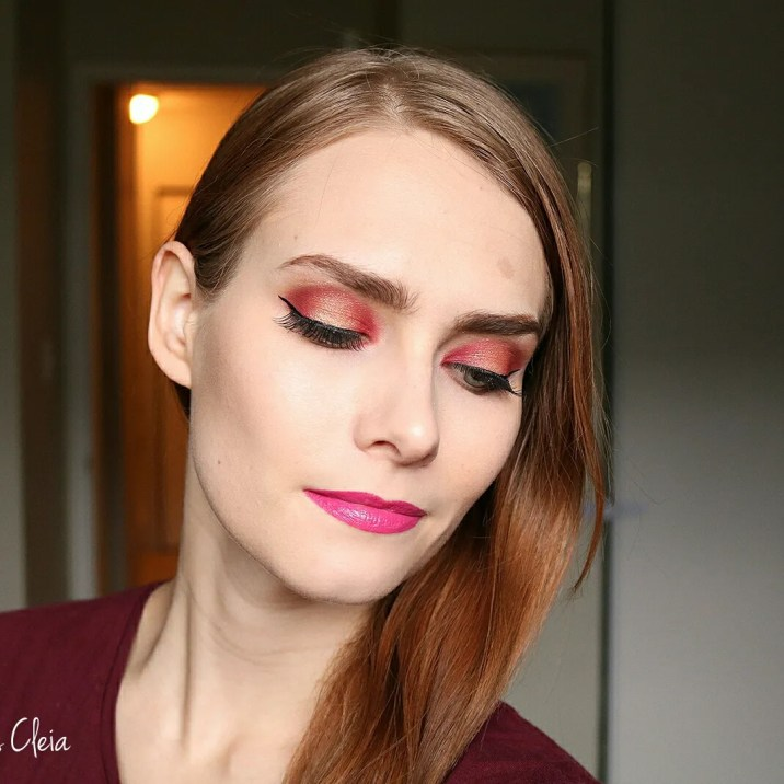 Makeup Revolution Soph Extra Spice Palette Makeup Look