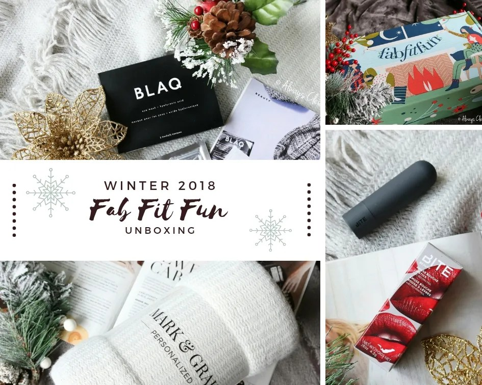 FabFitFun Winter Box Review | 2018