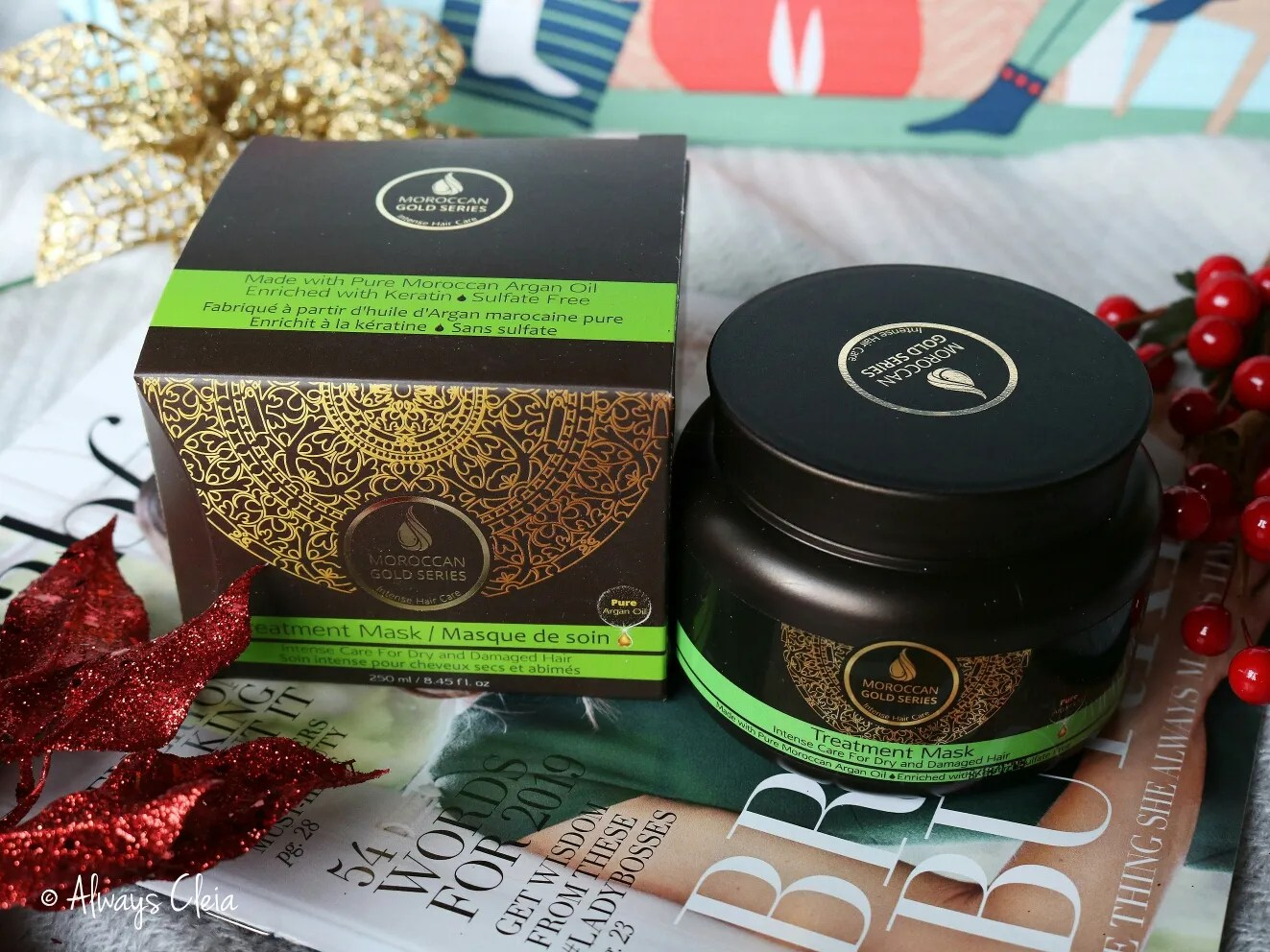 Fabfitfun Winter Box Moroccan Gold Series Argan Oil Hair Mask