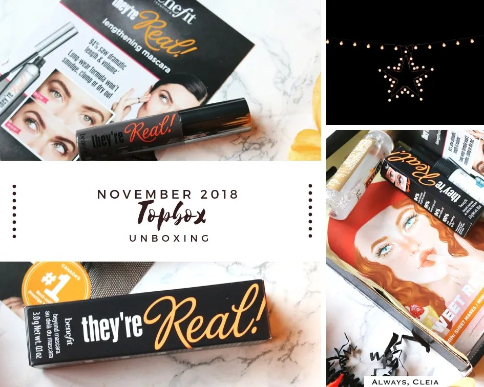 November Topbox Review 2018