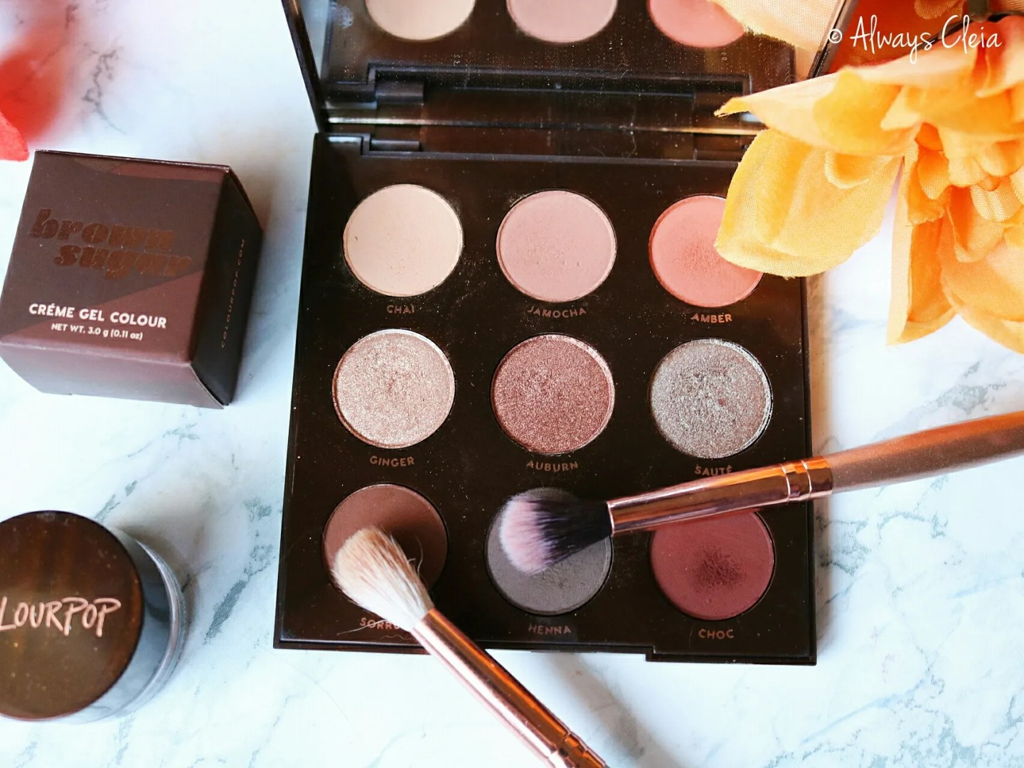 Brown Sugar Palette Review | Formula