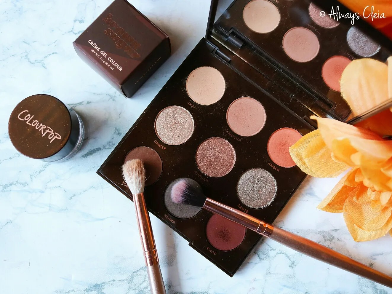ColourPop Brown Sugar Palette Review | Color Story