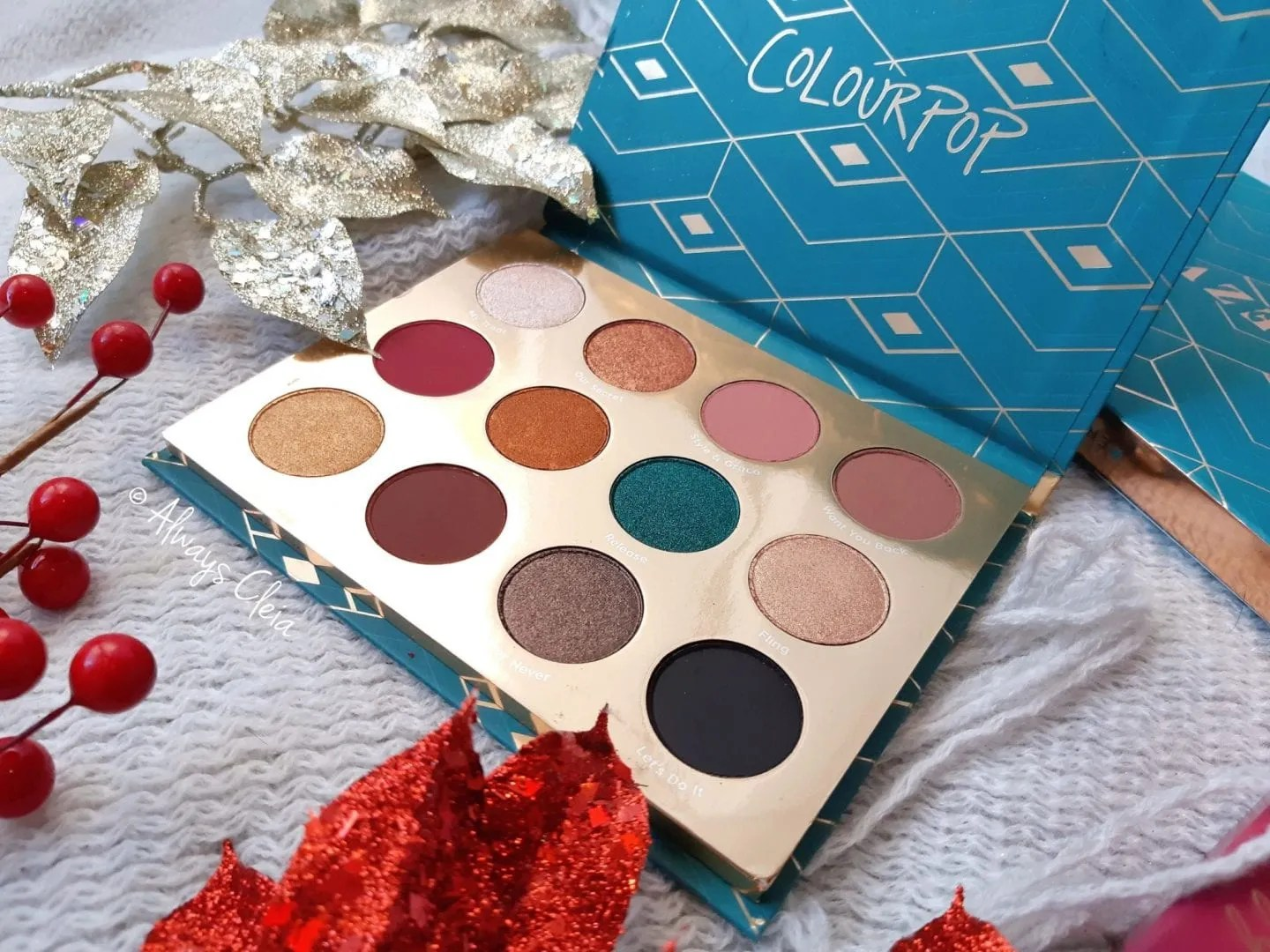 ColourPop Rendezvous Pressed Powder Shadow Palette Review