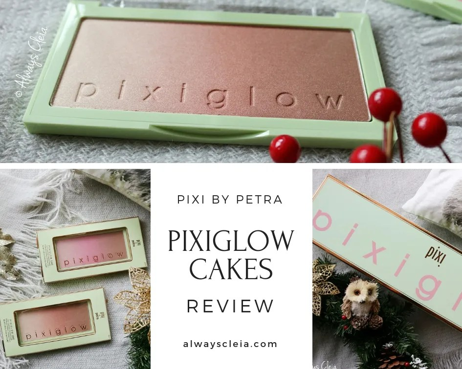 PIXI Pixiglow Cake Palettes Review | Gilded Bare & Champagne Glow