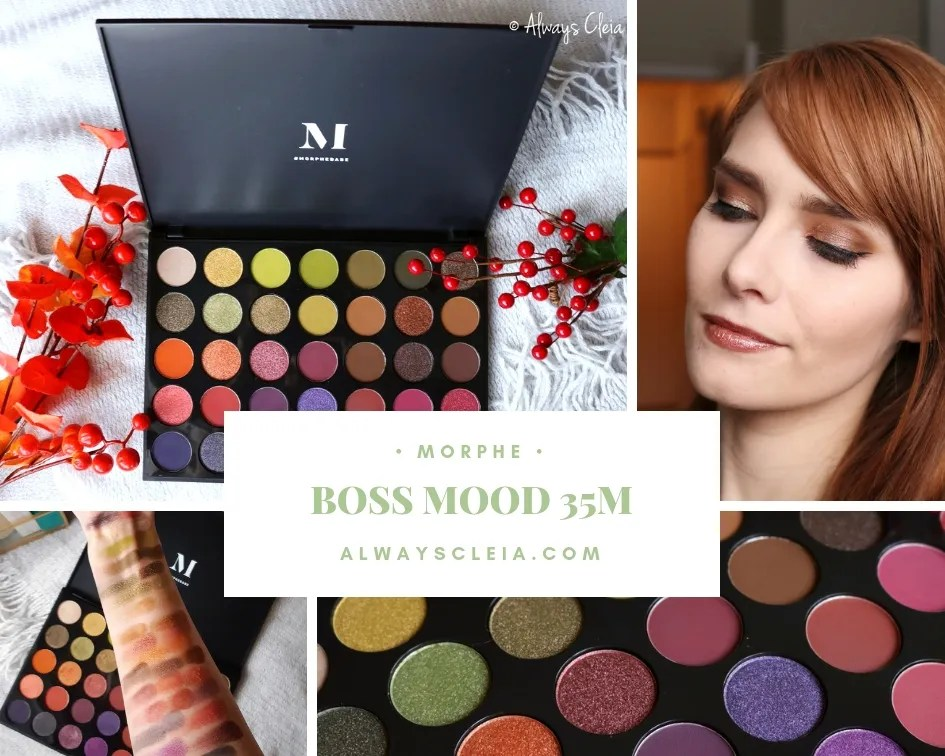 Morphe 35M Boss Mood Artistry Palette Review + Swatches + 4 Looks