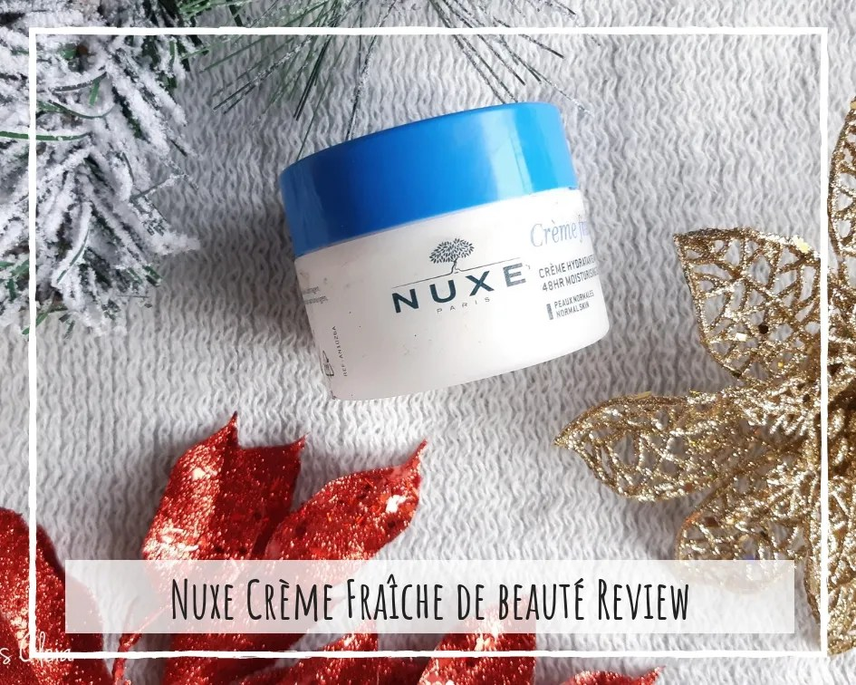 Nuxe 48 HR Moisturizing Cream Review