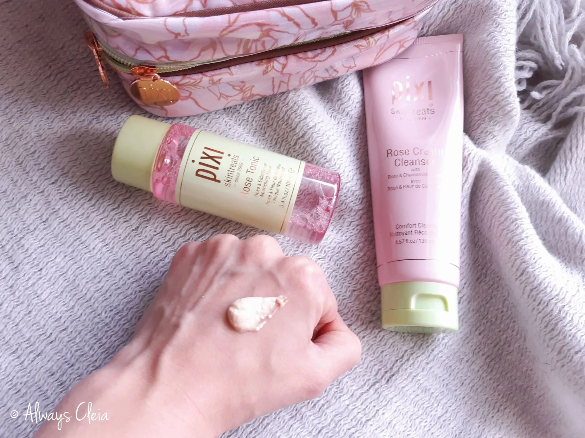Pixi by Petra Rose Cream Cleanser Texture