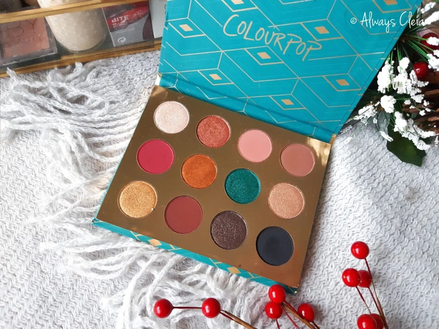 ColourPop Rendezvous Palette Colour Story