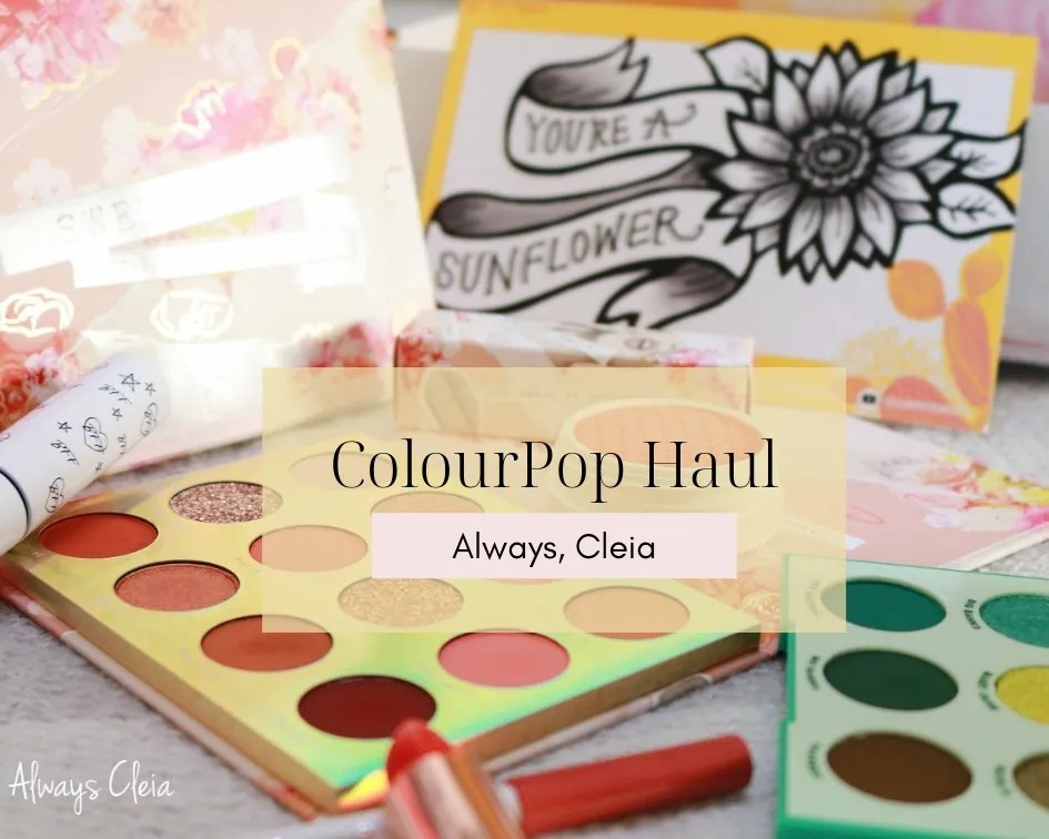 Spring ColourPop Haul