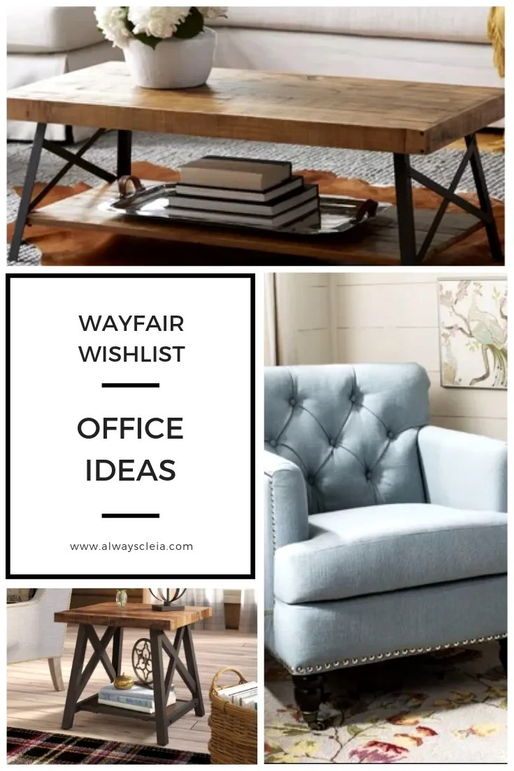 Wayfair Wishlist _ Living Room Ideas
