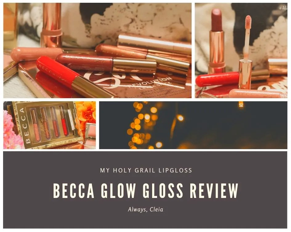 Becca Glow Lip Gloss Review & Swatches