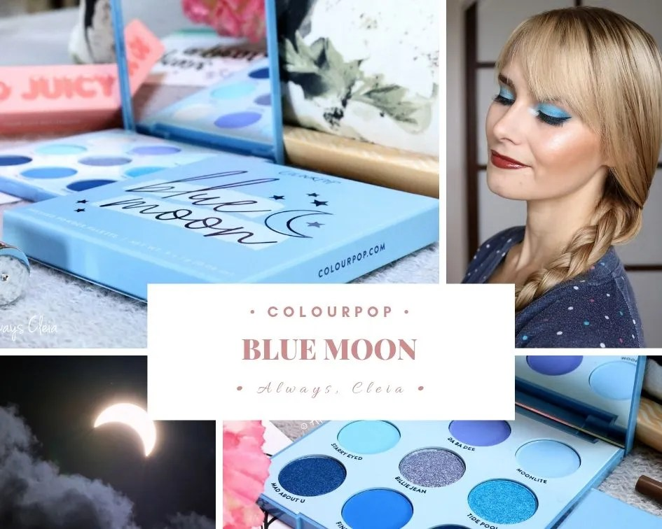 ColourPop Blue Moon Palette Review + 3 Looks