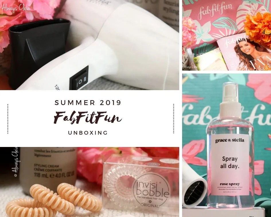 FabFitFun Summer Review 2019