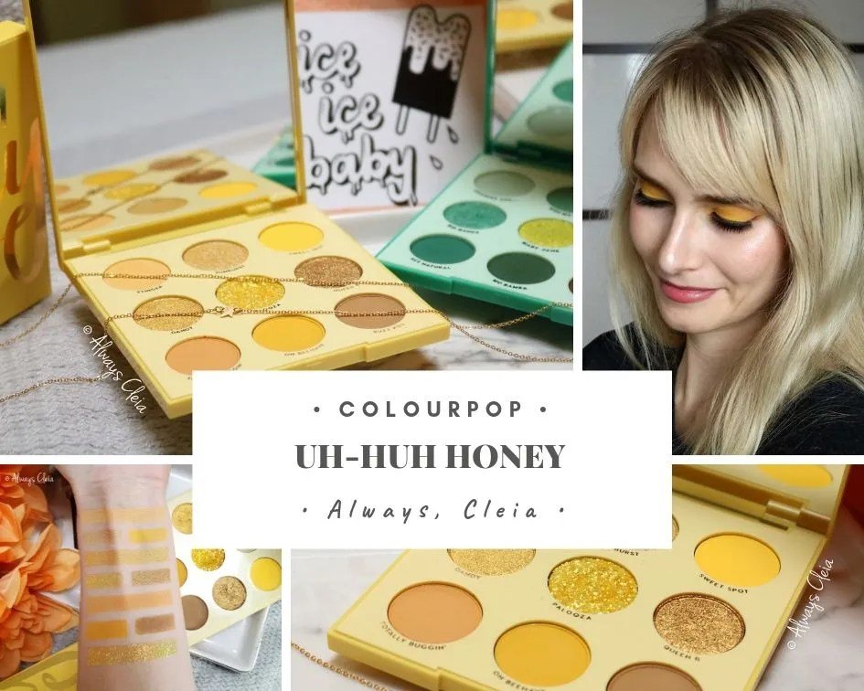 Uh Huh Honey Palette Review Swatches + 3 Looks