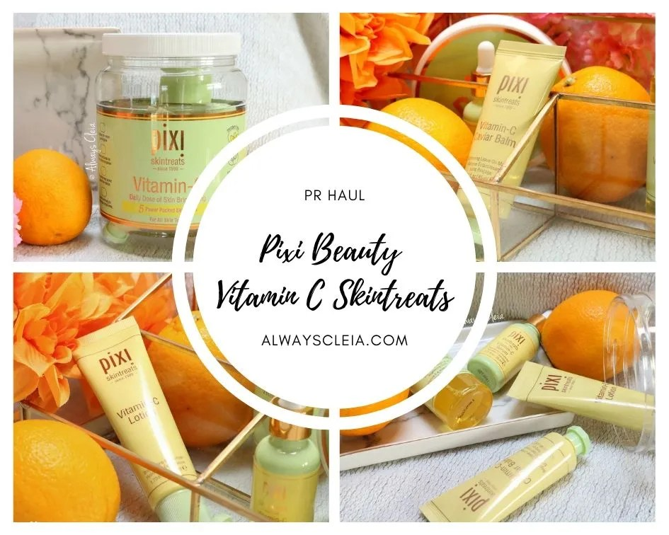 Pixi Beauty Vitamin C Skintreats | PR Haul