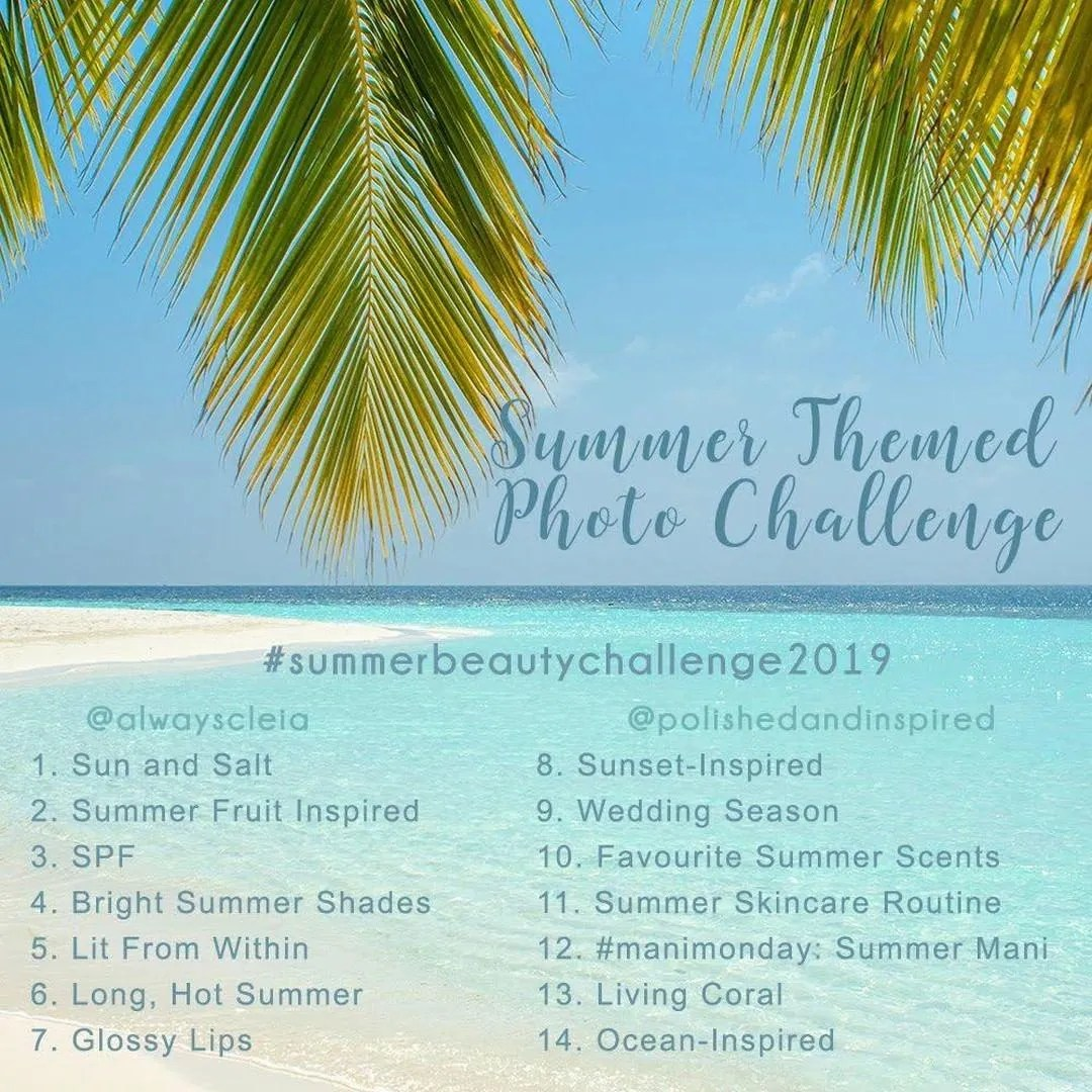 Summer Beauty Challenge