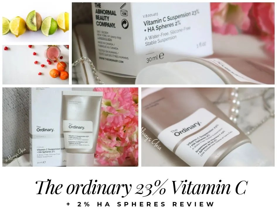 The Ordinary Vitamin C with HA Spheres Review