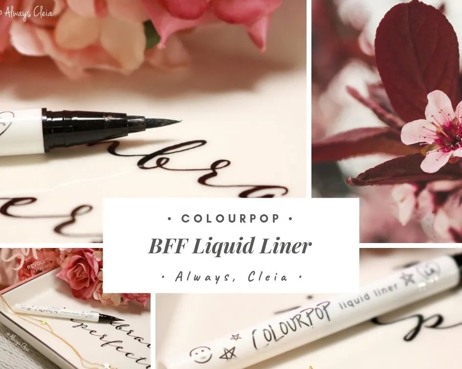 ColourPop BFF Liquid Eyeliner Review | Numero Uno