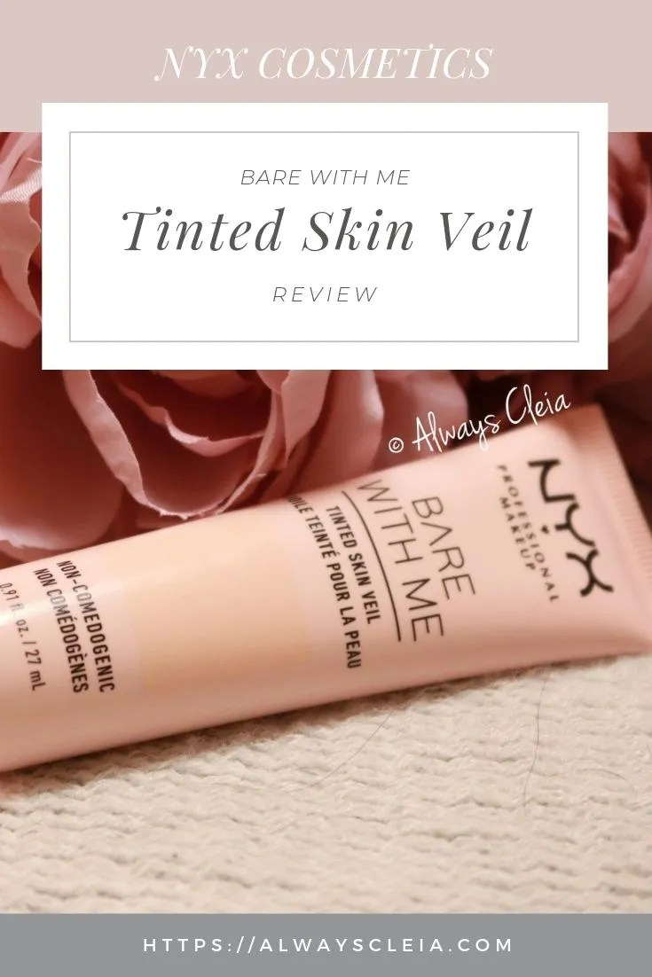 NYX Bare With Me Tinted Moisturizer Review
