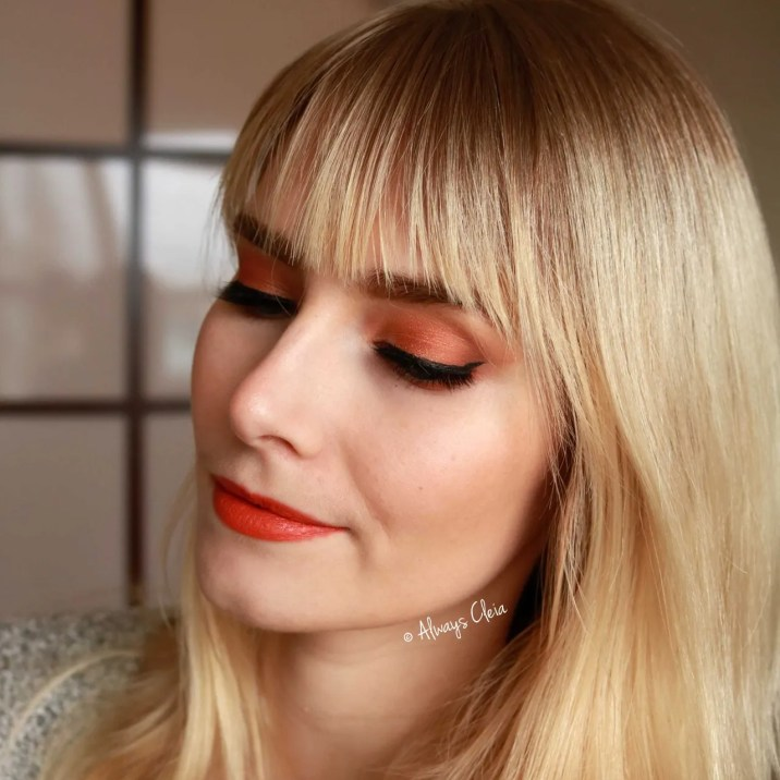 Orange Daytime Eyeshadow