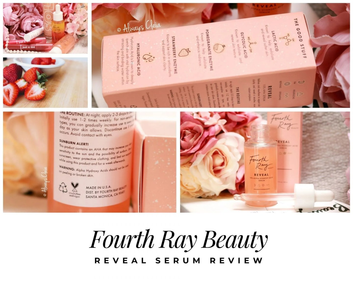 Fourth Ray Beauty Reveal Alpha Hydroxy Serum Review