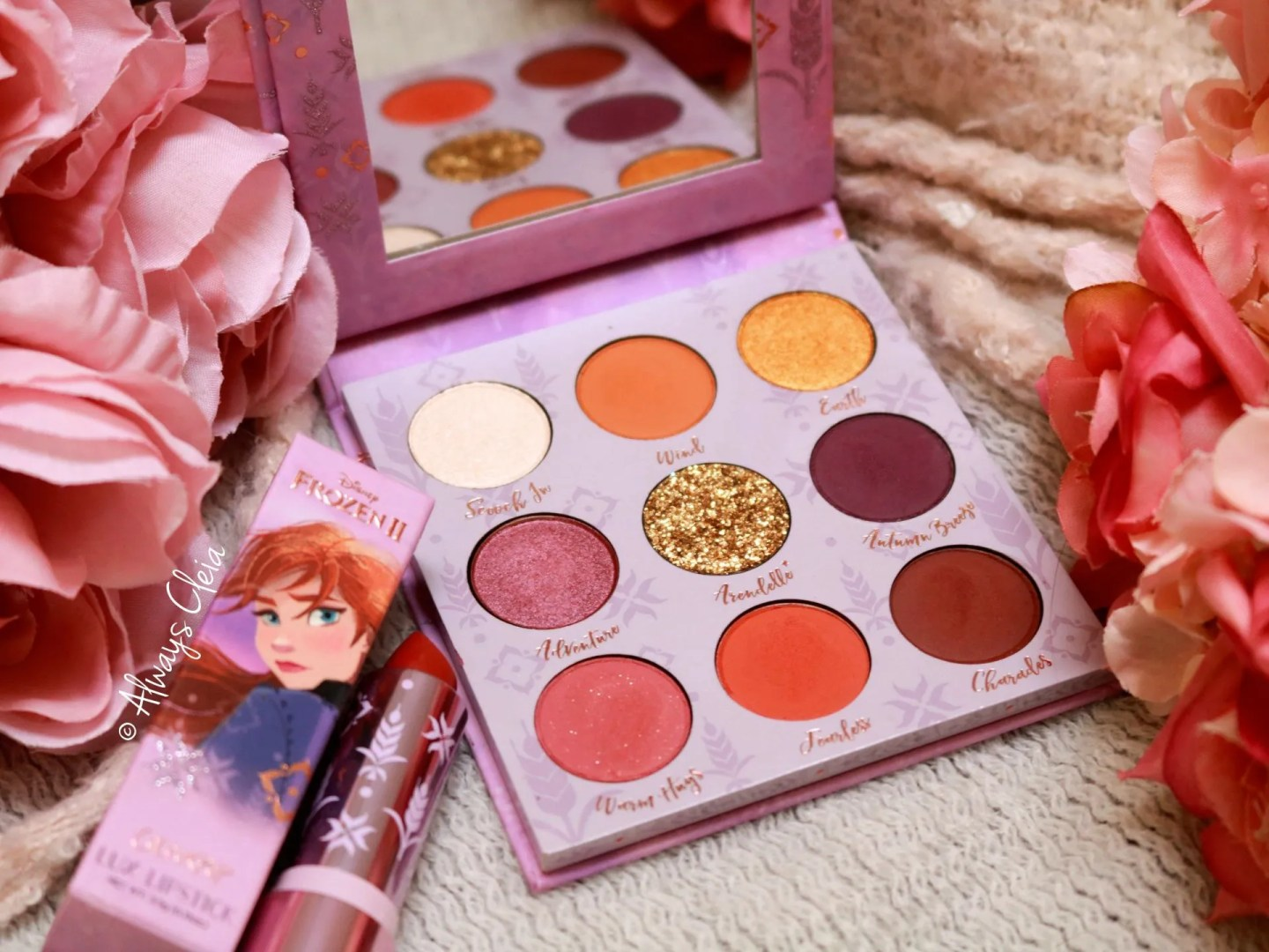 Anna Pressed Shadow Palette