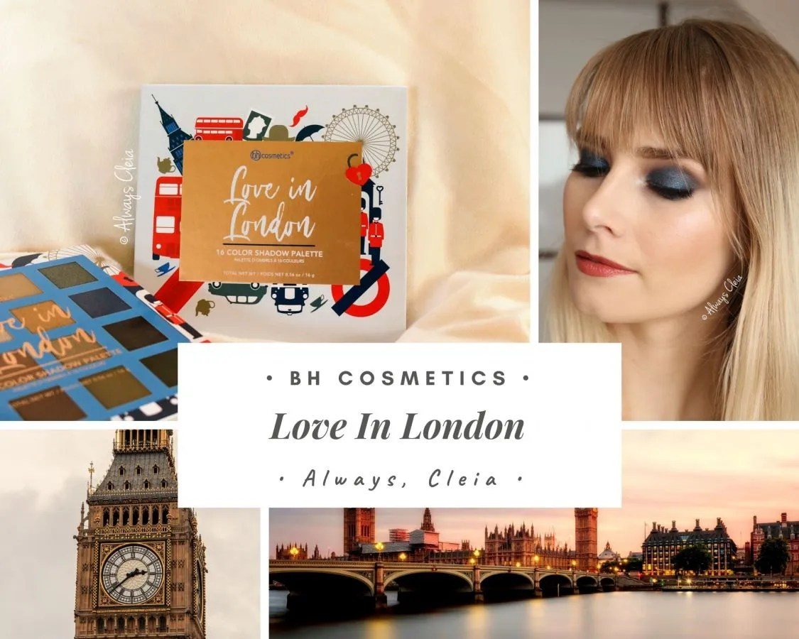 BH Cosmetics Love In London Palette Review + 3 Looks
