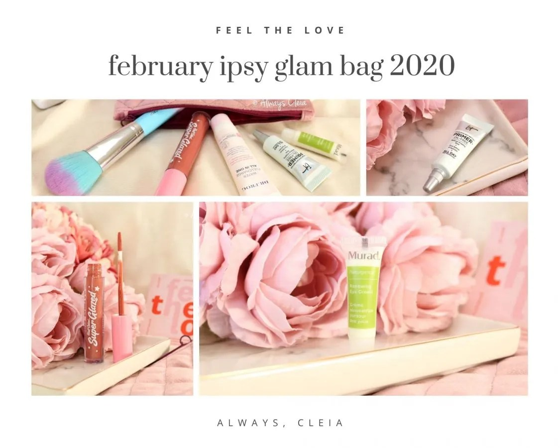 February 2020 Ipsy Glam Bag Review