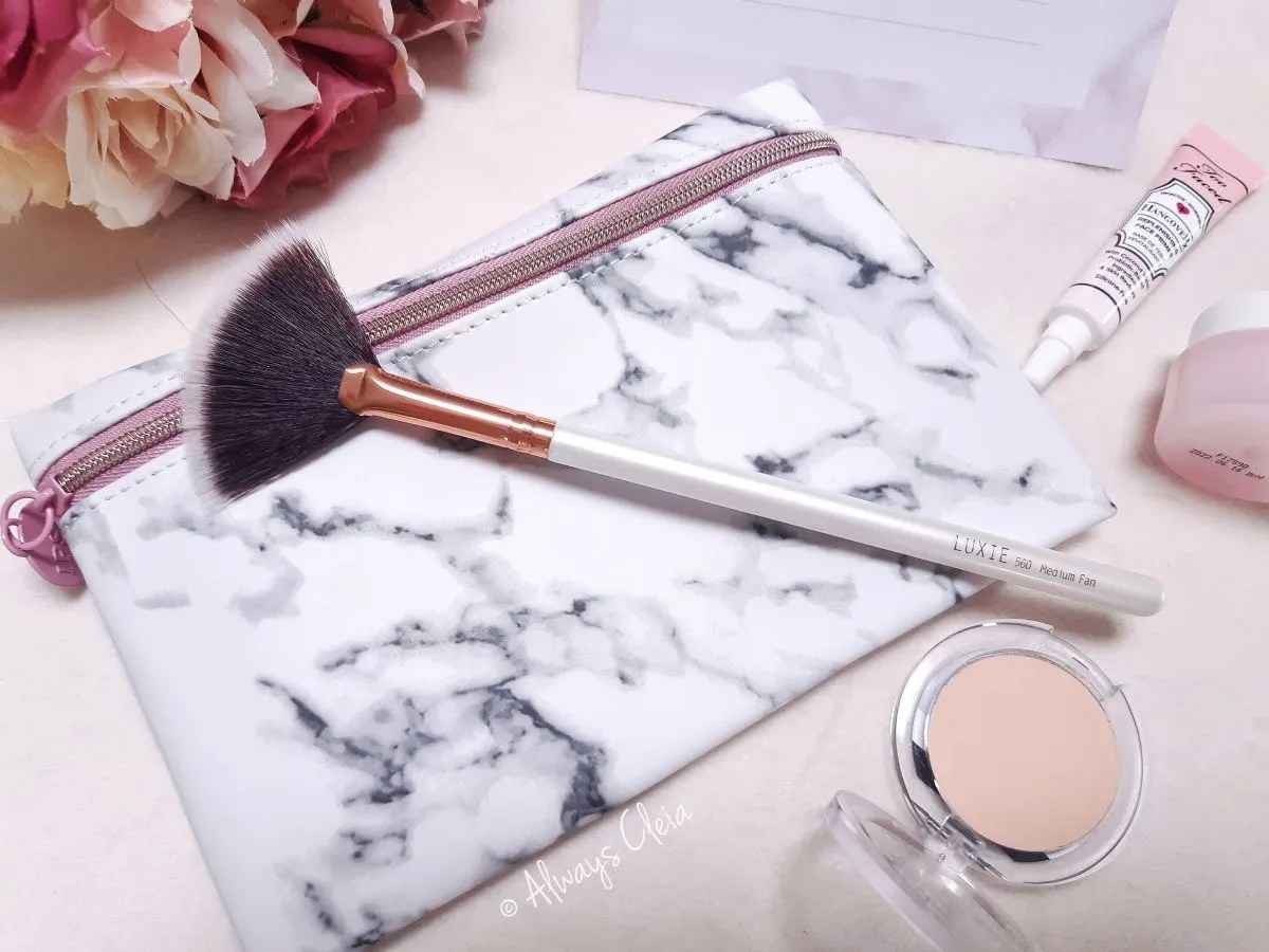 Ipsy Luxie 560 Fan Brush