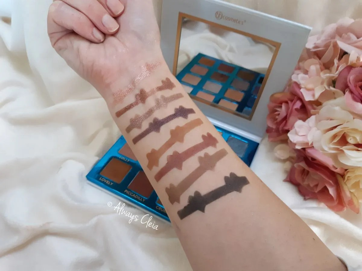 Love In London Eyeshadow Swatches