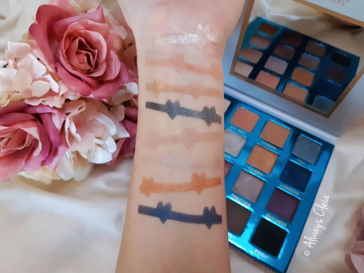 Love In London Swatches