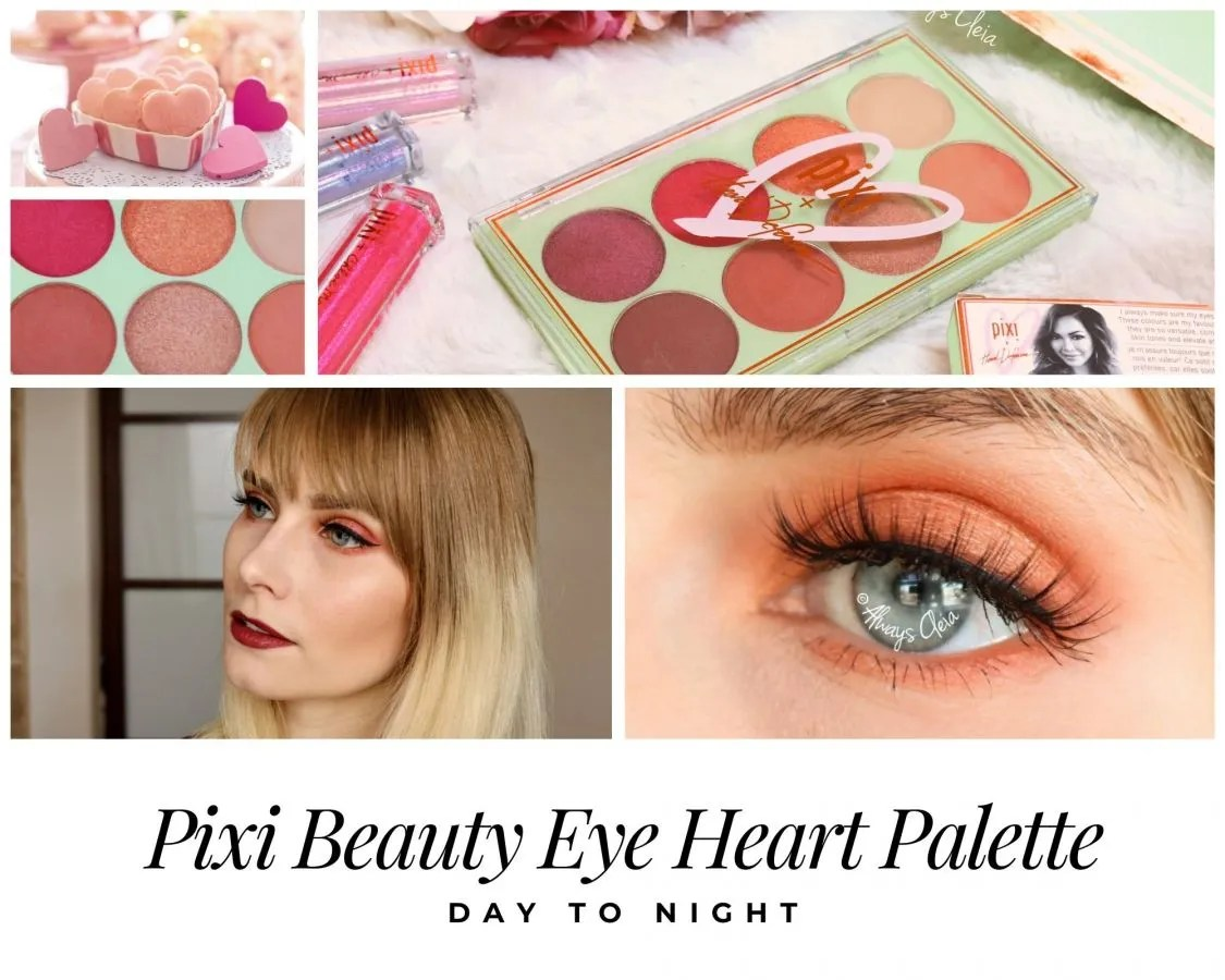 Day to Night with the  Pixi Beauty Eye Heart Palette