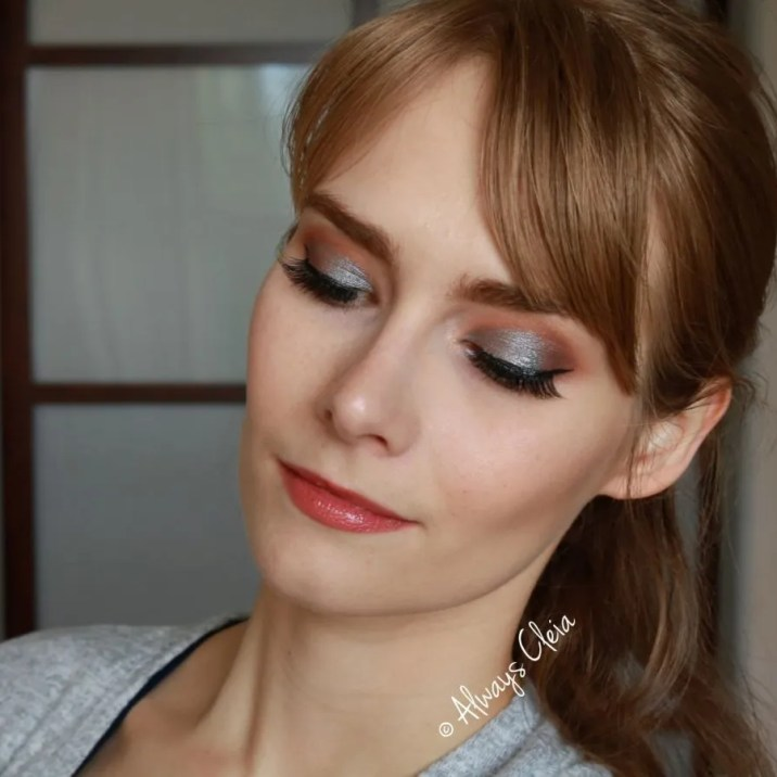 Icy Blue Desert Oasis Makeup Look