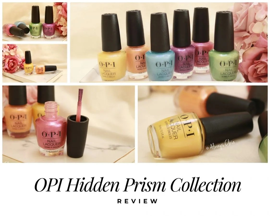 OPI Summer 2020 Hidden Prism Collection Review